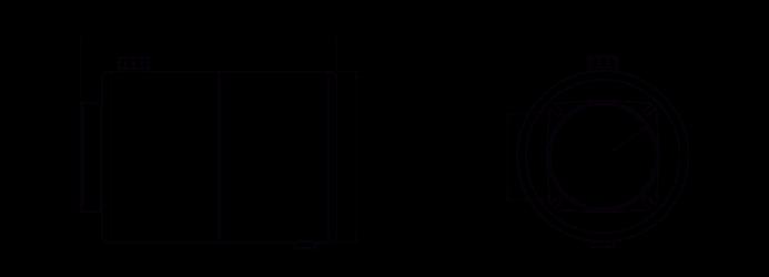 Quote serbatoio cilindrico in acciaio 8 litri