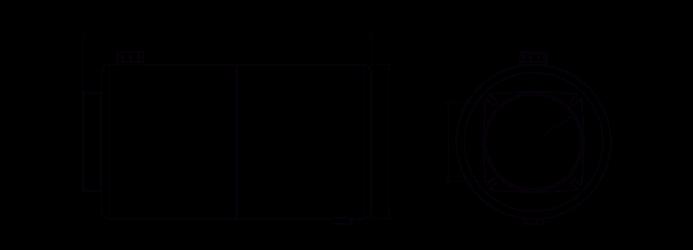 Quote serbatoio cilindrico in acciaio 10 litri
