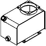 Serbatoio stagno in acciaio 7 litri