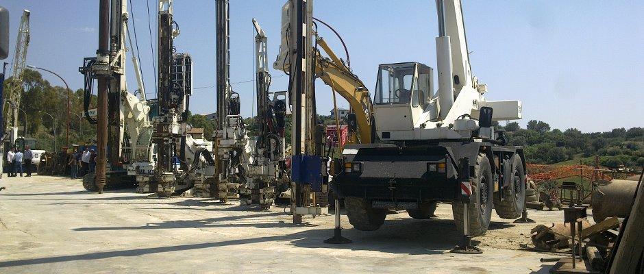 Macchine per l'edilizia